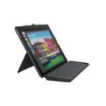 Logitech Slim Combo mobile device keyboard French Black Smart Connector