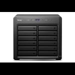 Synology DX1215 disk array Desktop Black