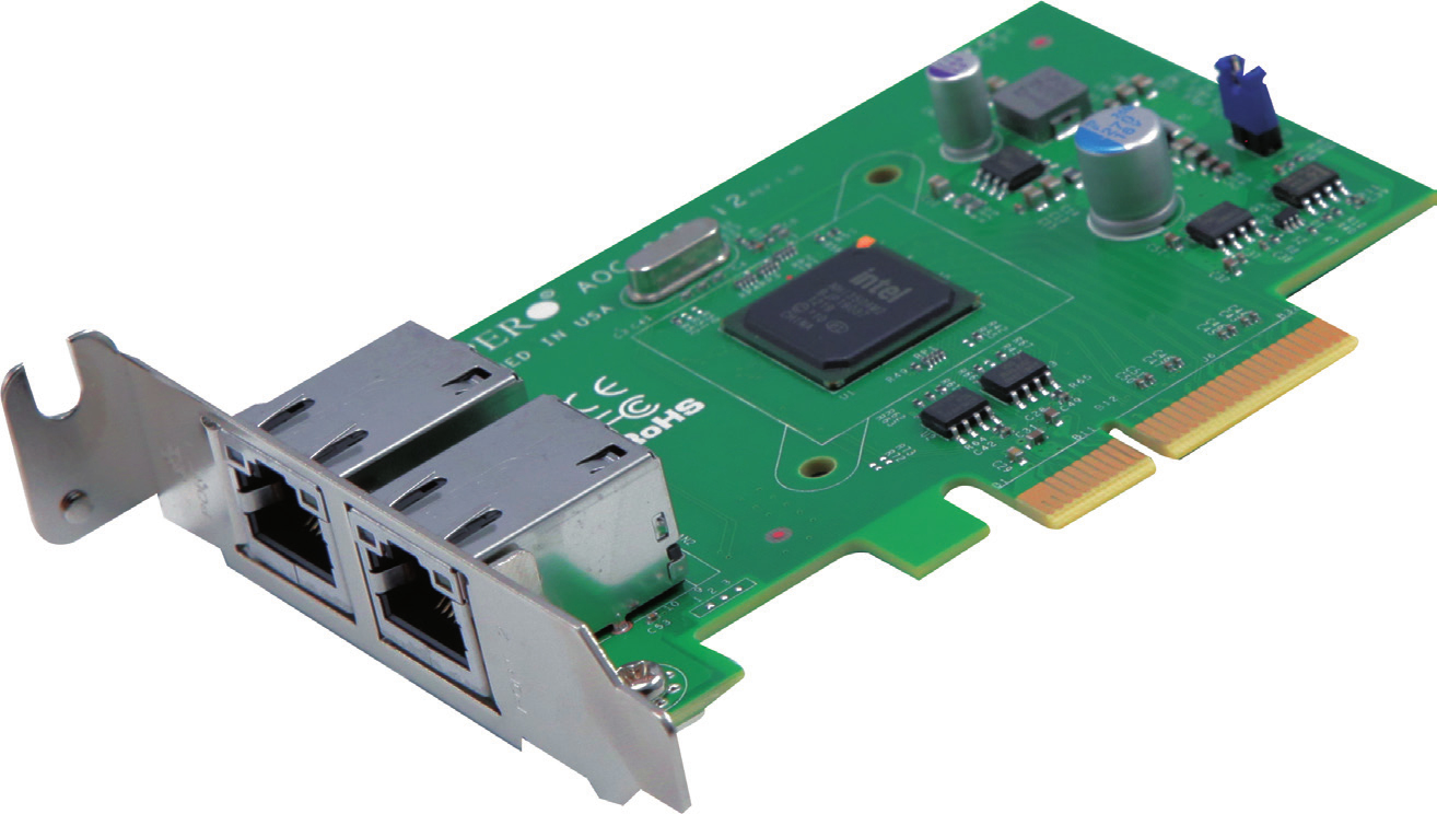 Supermicro AOC-SGP-I2 netwerkkaart & -adapter Ethernet 5 Mbit/s Intern