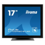"iiyama ProLite T1732MSC-B1AG 17"" 1280 x 1024pixels Multi-touch Tabletop Black touch screen monitor"