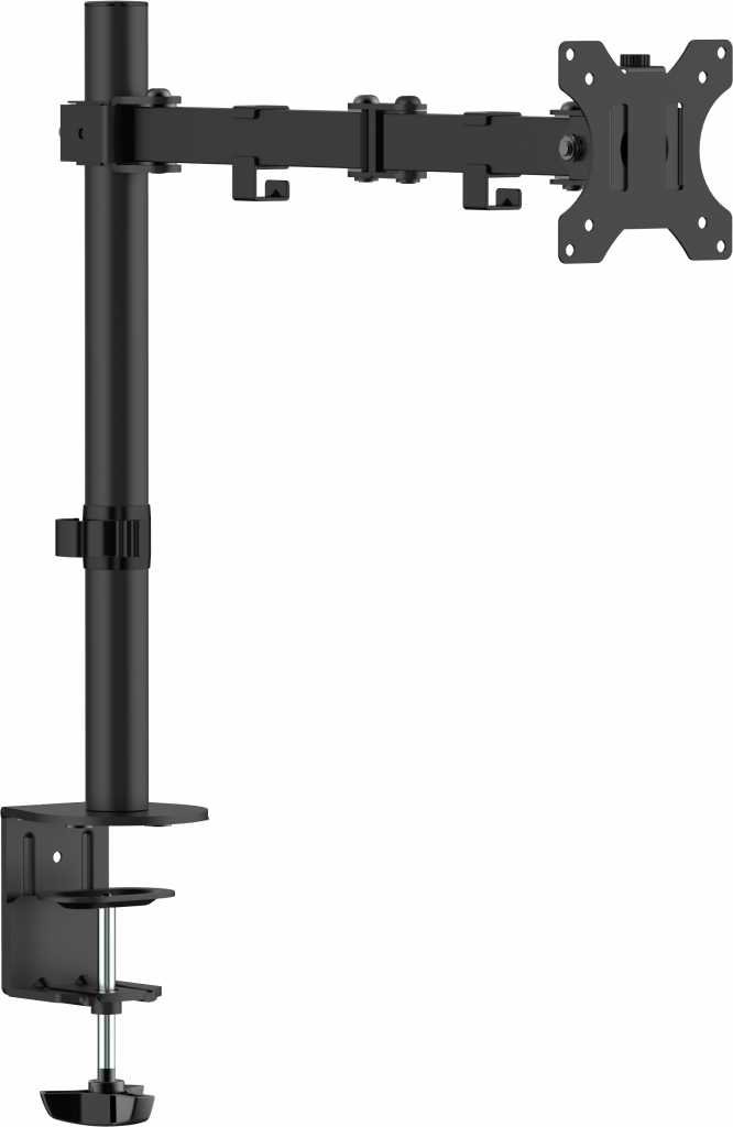 "Vision VFM-DP2B flat panel desk mount 81.3 cm (32"") Clamp Black"