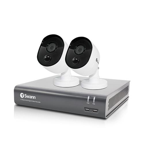 Swann SWDVK-445802V video surveillance kit Wired 4 channels