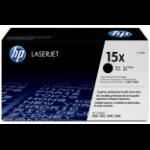 HP 15X Origineel Zwart 1 stuk(s)