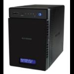 NETGEAR ReadyNAS 214 MEDIA HUB - 4 bay Consumer Desktop NAS (Diskless)
