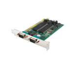 StarTech.com 2 Port ISA RS232 Serial Adapter Card with 16550 UART