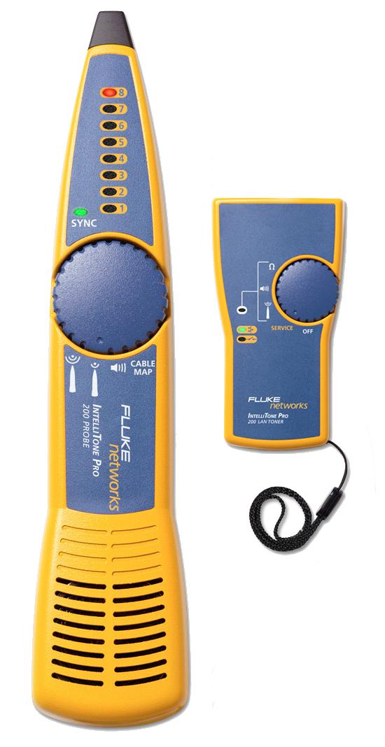 Fluke Cable Tester : Fluke mt kit network cable tester in