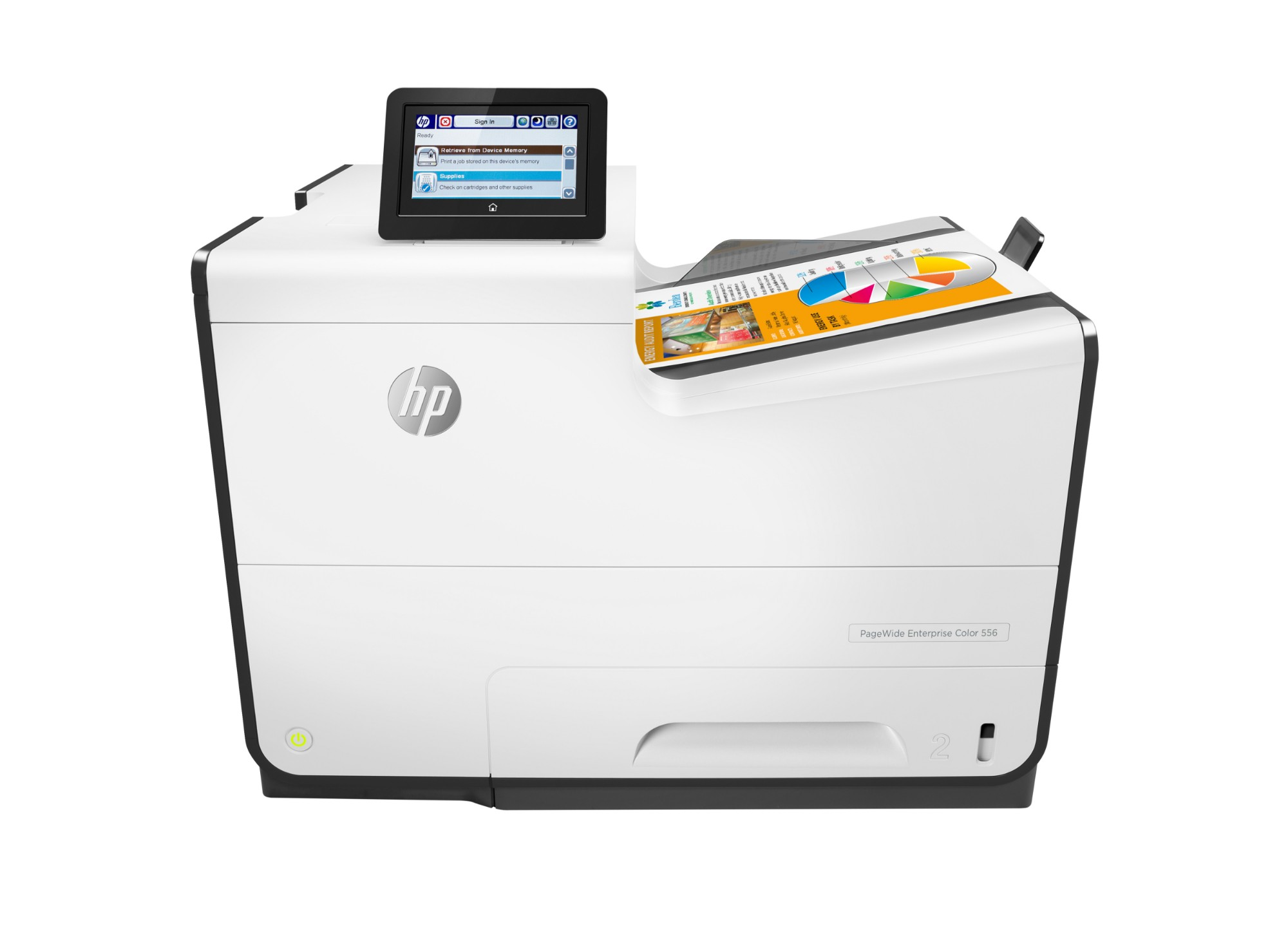 HP PageWide Enterprise Color 556dn inkjet printer Colour 2400 x 1200 DPI A4