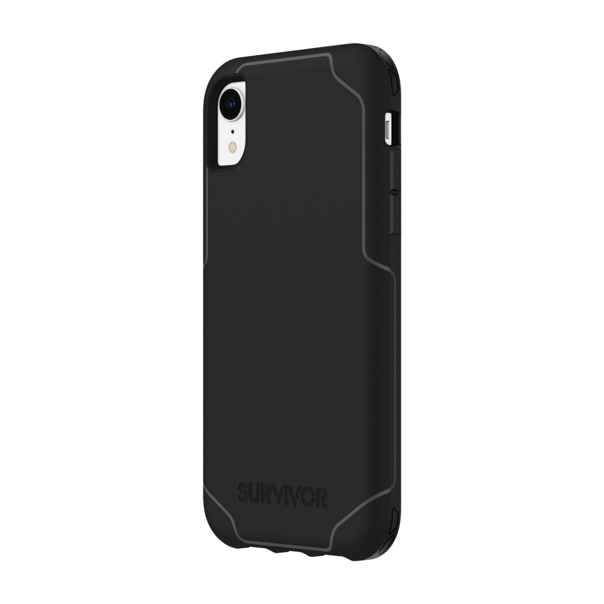 """Incipio Survivor Strong mobile phone case 15.5 cm (6.1"""") Cover Black"""