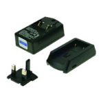 2-Power UCC8010A Indoor battery charger Black battery charger