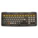 Zebra KYBD-AZ-VC-01 teclado USB AZERTY Belga, Francés Negro