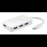 D-Link USB-C to 4-Port USB 3.0 Hub– DUB-H140