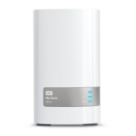Western Digital My Cloud Mirror personal cloud storage device 4 TB Ethernet LAN White
