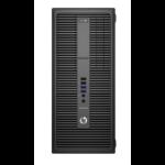 HP EliteDesk 800 G2 DDR4-SDRAM i5-6500 Micro Tower 6th gen Intel® Core™ i5 8 GB 500 GB HDD Windows 7 Professional PC Black
