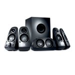 Logitech Z506 5.1channels 150W Black speaker set