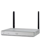 Cisco C1116-4PLTEEAWE draadloze router Dual-band (2.4 GHz / 5 GHz) Gigabit Ethernet 4G Zilver