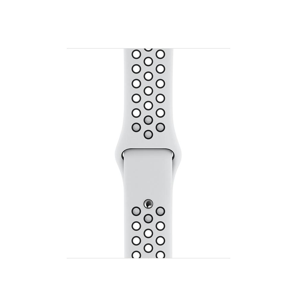 Apple MX8D2ZM/A accesorio de relojes inteligentes Grupo de rock Negro, Platino Fluoroelastómero
