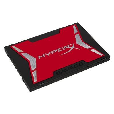 "Kingston HyperX Savage 120GB SSD 2.5"" SATA 6Gbps Solid State Drive (SHSS37A/120G)"