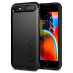 "Spigen Slim Armor mobiele telefoon behuizingen 11,9 cm (4.7"") Hoes Zwart"