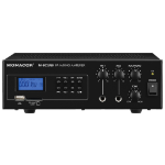 Monacor PA-802USB audio amplifier 3.0 channels Performance/stage Black