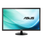 """ASUS VP228DE 21.5"""" Full HD TFT Matt Black computer monitor"""