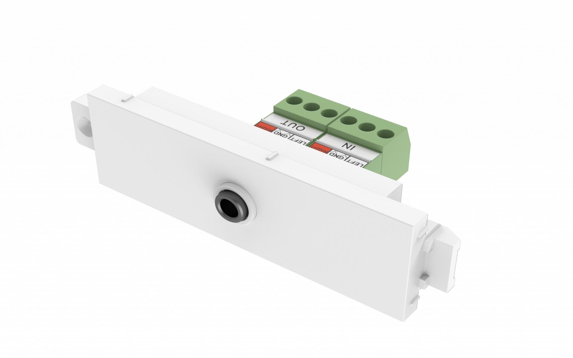 Vision TC3 3.5MM/V2 toma de corriente 3,5 mm Blanco