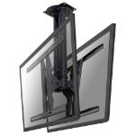 Newstar PLASMA-C100D signage display mount 190,5 cm (75 Zoll) Schwarz