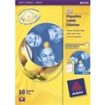 Avery J8676-100 200pc(s) CD/DVD Self-adhesive label storage media label