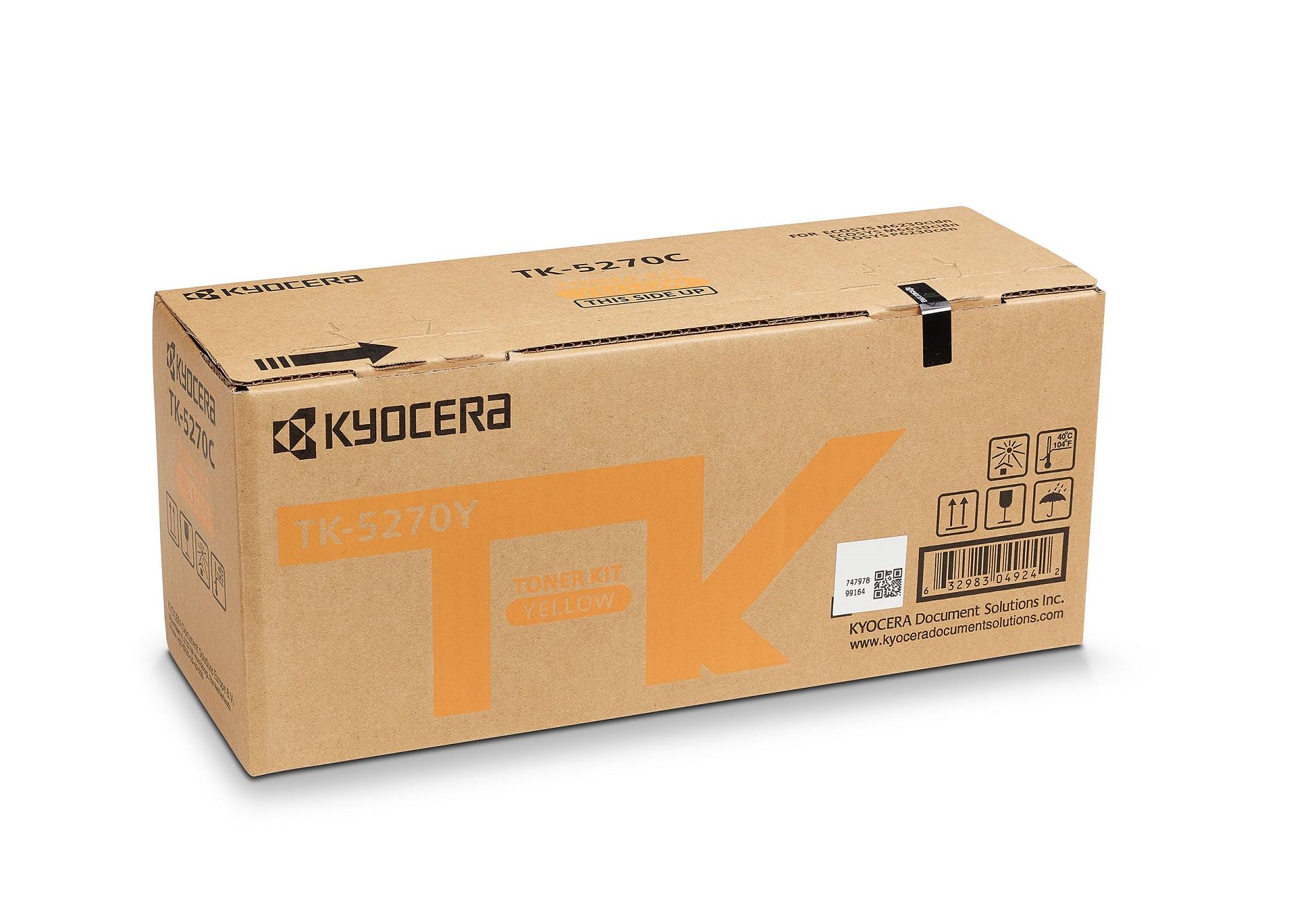 KYOCERA TK-5270Y Original Amarillo 1 pieza(s)