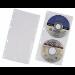 Durable 5203-19 Sleeve case 2 discs Transparent