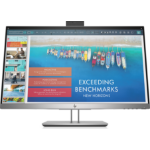"HP EliteDisplay E243d LED display 60.5 cm (23.8"") Full HD Flat Silver"