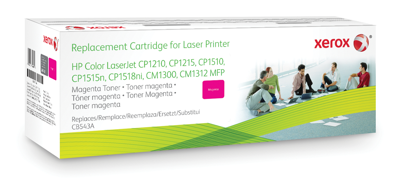 Xerox 003R99788 compatible Toner magenta, 1.4K pages @ 5% coverage (replaces HP 125A)