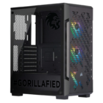 Gorilla Gaming LEVEL: 2.2 - i5 9600K 3.7GHz, 16GB RAM, 256GB NVMe SSD, 1TB, RTX 2060 Super 8GB