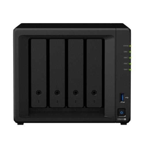 Synology DS918+ NAS Desktop Ethernet LAN Black