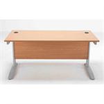 Arista Maple 1600mm Rectangular Desk KF838627