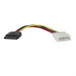 Tripp Lite Serial atA (SatA) Power Cable (4Pin Molex to 15pin), 6-in.