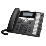 Cisco 7861 IP phone Black, Silver 16 lines LCD