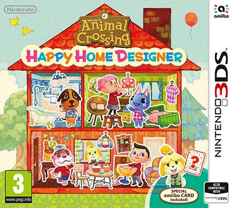 Nintendo Animal Crossing: Happy Home Designer + Amiibo Card