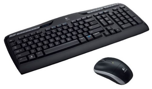 Logitech MK330 keyboard RF Wireless QWERTY US International Black