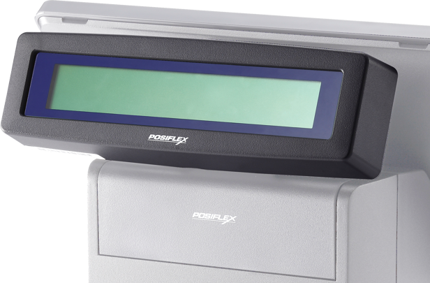 Posiflex PD-340UE-B 2x20 Line LCD Custo