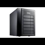 Promise Technology Pegasus2 R6 24000GB Desktop Black disk array