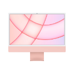 Apple iMac 24-inch with Retina 4.5K display: M1Ð' chip with 8_core CPU and 8_core GPU, 512GB - Pink (2020) MGPN3B/A