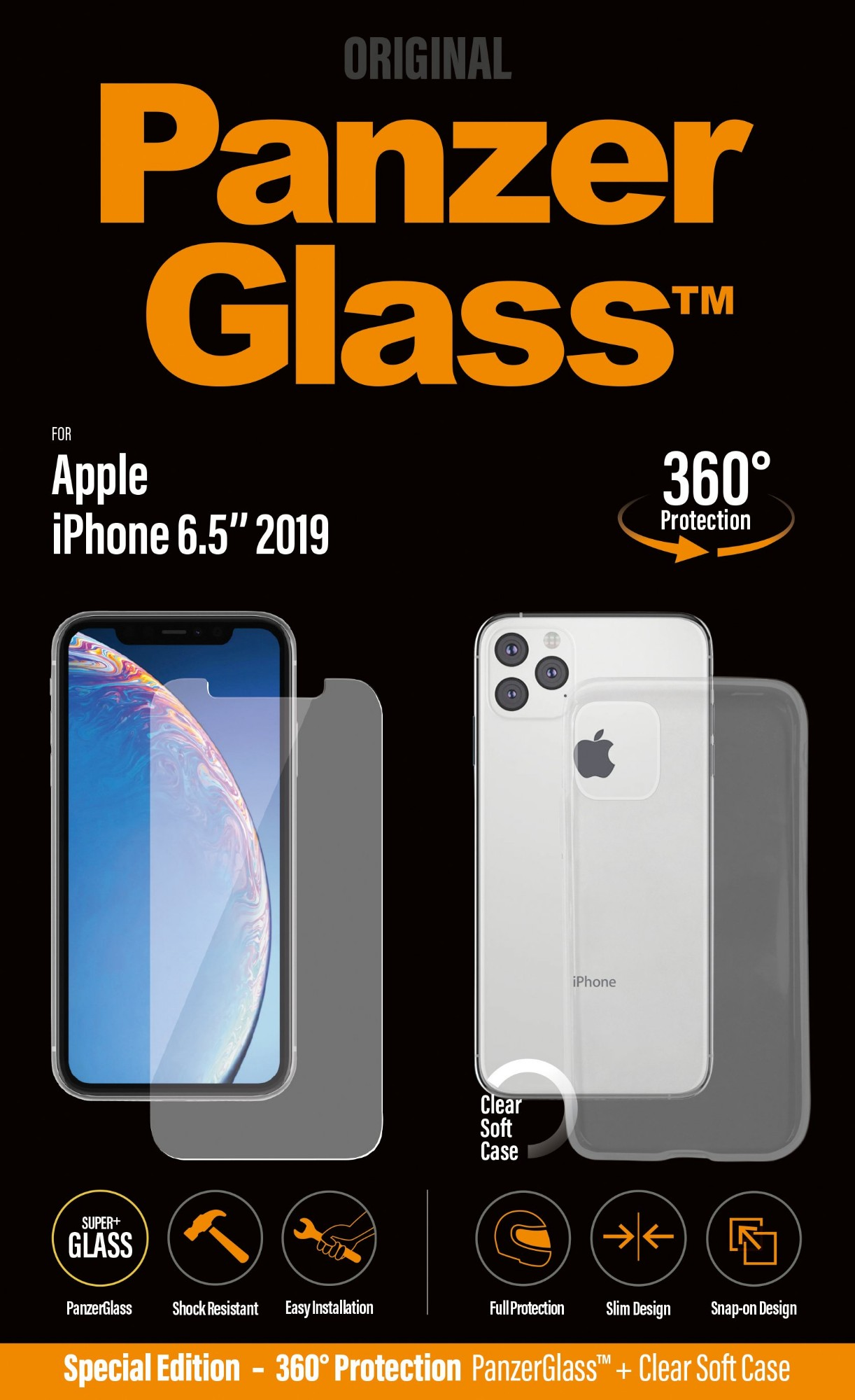 360 PROTECTION IPHONE 11PRO MAX W. PG CASE