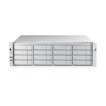 Promise Technology E5600f Fibre Channel Rack (3U) Stainless steel disk array
