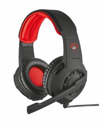 Trust GXT 310 Headset Helmet 3.5 mm connector Red