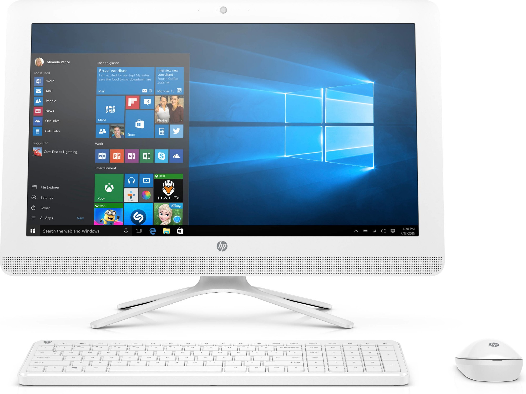 HP All-in-One - 22-b020na (ENERGY STAR)