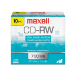 Maxell 630011 blank CD CD-RW 700 MB 10 pcs