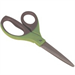 Q-CONNECT KF03987 Green,Grey,Metallic stationery/craft scissors