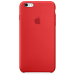 Apple iPhone 6s Silicone Case - Red