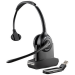 Plantronics SAVI W410 Monaural Head-band Black headset