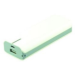2-Power Phone/Tablet Power Bank  USB  - Green 6000mAh, (UBP0106A)